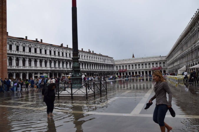 St Marks Square, under water