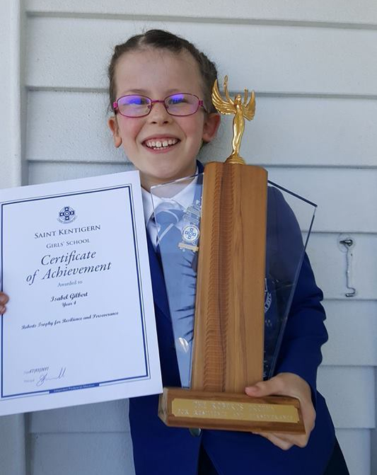 Izzy's award